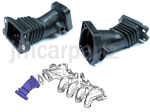 ford tdci 90 ps air inlet manifold turbo hose pipe ebay. Black Bedroom Furniture Sets. Home Design Ideas